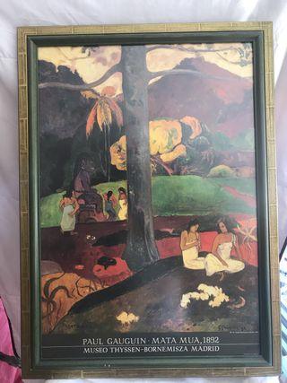 Cuadro Mata Mua. Paul Gauguin