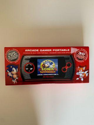 Consola atgames arcade master system y game gear