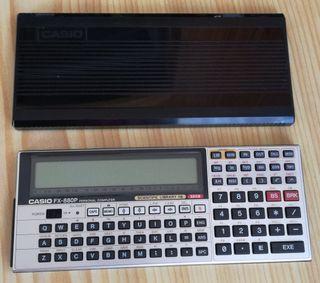 Calculadora científica FX 880P nueva