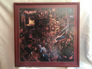 Cuadro Metrópolis de George Grosz