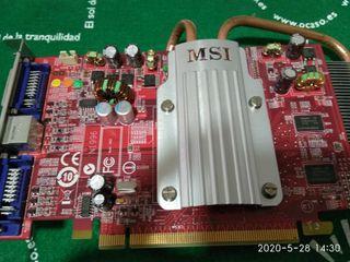 tarjeta gráfica MSI rx2600 pro