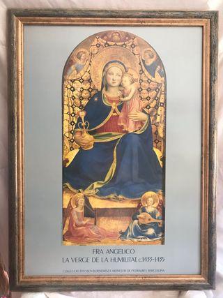 Cuadro La Virgen de la humildad