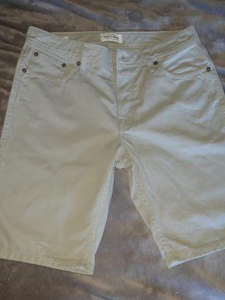 pantalon corto jack jones
