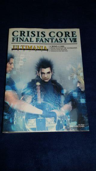 Guía Final Fantasy VII Crisis Core Ultimania