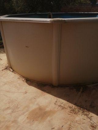 piscina desmontable gres