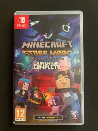 Minecraft Story Mode - Av. Completa (Switch)