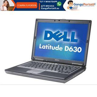 Portátil Dell D620, Puerto Serie Rs232/Dvd/Windows