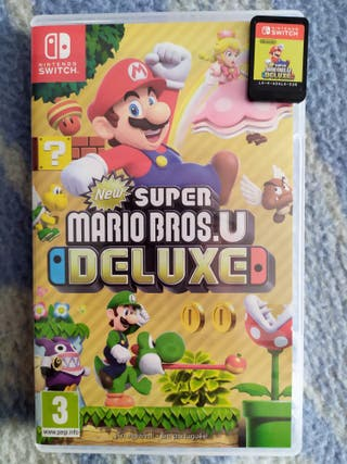 Super Mario Bros U Deluxe