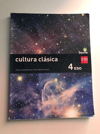 Libro cultura clásica 4 eso