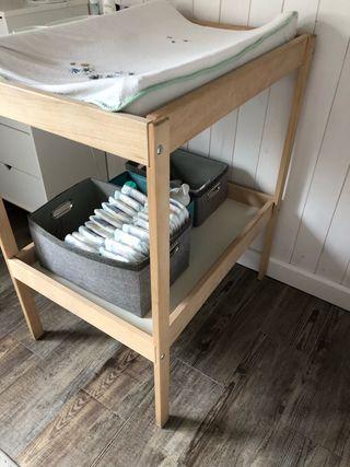 Cambiador bebe Sniglar Ikea