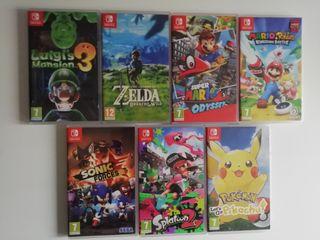 7 juegos Nintendo Switch