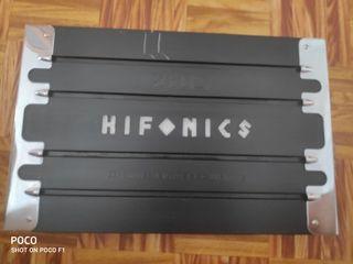 AMPLIFICADOR DE SONIDO HIFONICS ZEUS!!!
