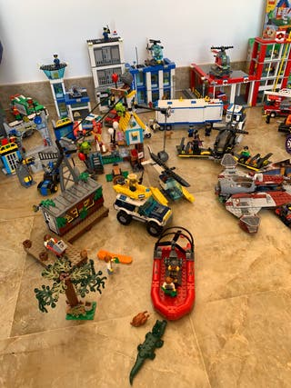 Lego city policia , bomberos, Batman,Angry birds..