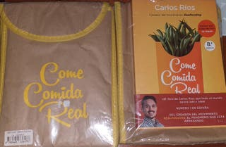 LIBRO CARLOS RIOS COME COMIDA REAL REALFOODING