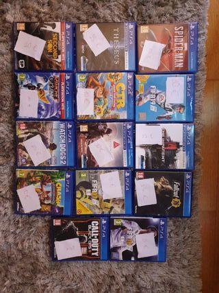 venta de juegos PS4 seminuevos