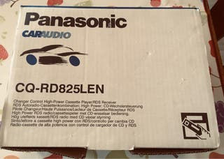 Radio cd coche Panasonic