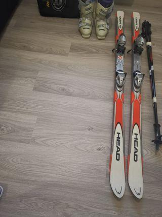 esquíes