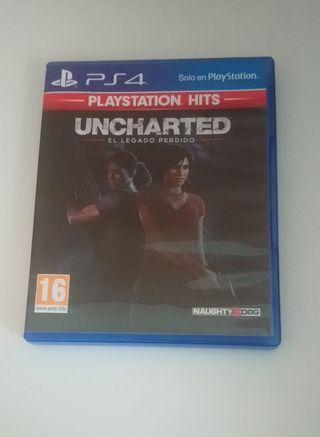 Uncharted Legado Perdido Ps4 10 €
