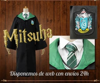 Capa Harry Potter disfraz Slytherin