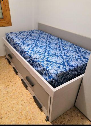 cama doble nido