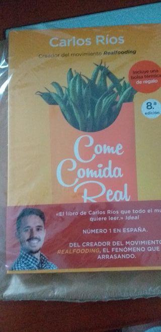 REALFOODING COME COMIDA REAL CARLOS RIOS