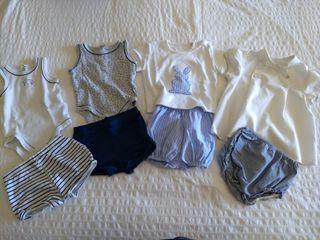Lote 4 conjuntos bebé. 6 meses