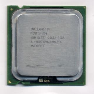 Pentium 4 650 3.40 Ghz