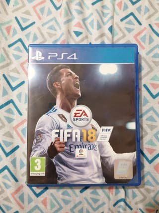 Fifa18 juego PS4