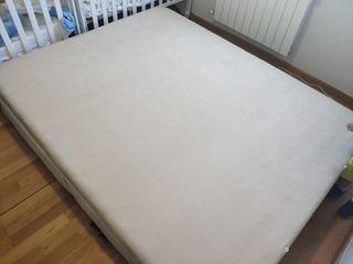 canapé tapizado cama matrimonio