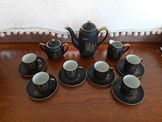 Juego de café porcelana japonesa