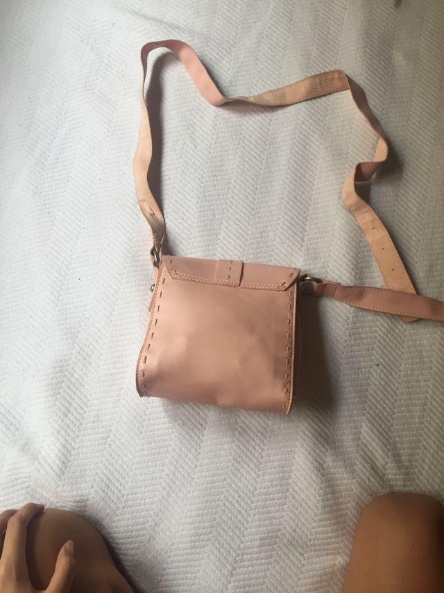 Bolso de niña rosa