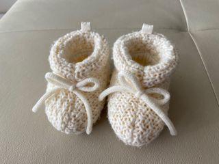 Zapatos recién nacido 3 pares