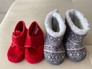 Zapatos bebe 4 pares