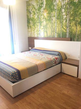 Mueble dormitorio para cama 150 con canapé