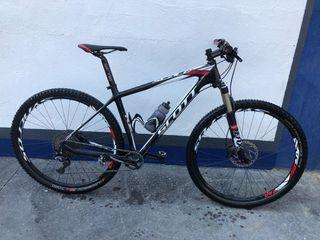 Bicicleta Scott scale 930 carbono talla L