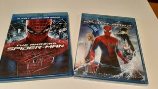 Pack The Amazing Spiderman blu-ray