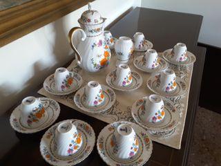 Antiguo Juego Café porcelana Kaiser