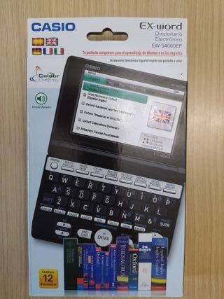 diccionario electronico Casio