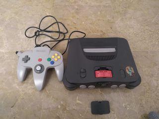 Nintendo 64 con expansion pak