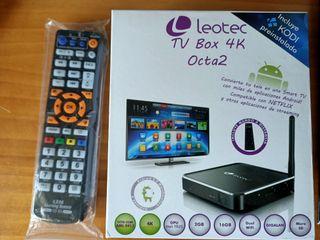 Smart Tv Box 4K Leotec