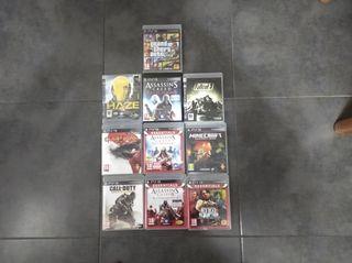 paquete de 10 juegos PS3 con ediciones especiales