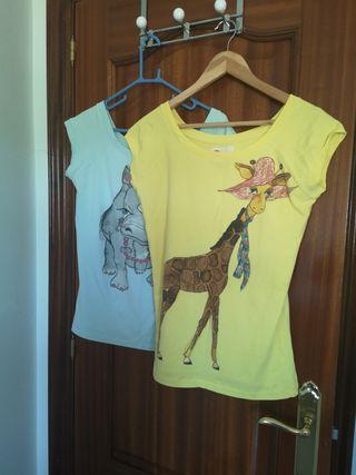 camisetas zara XL
