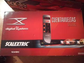 scx scalextric digital system cuentavueltas 6 corr