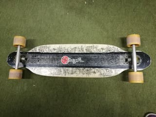 LONGBOARD APEX 37 FORGED CARBON ABEC11 FIBRA