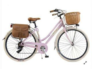 Bicicleta Via Venetto Canellini rosa mujer