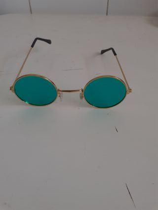 gafas redondas verdes