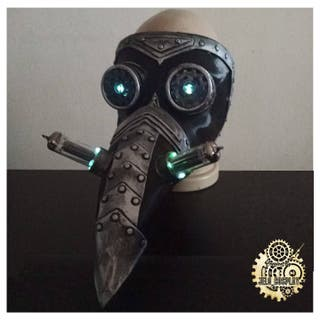 Máscara de la peste Steampunk