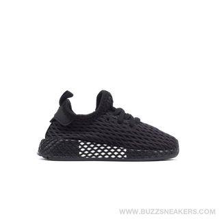 Zapatillas adidas Deerupt negras bebes. Talla 25.5