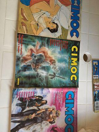 Comics Cimoc 71, 98, 160 y fantasia