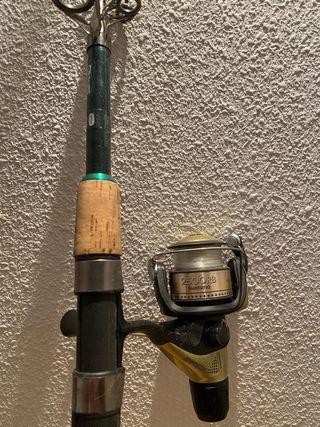 Caña de pescar ligera